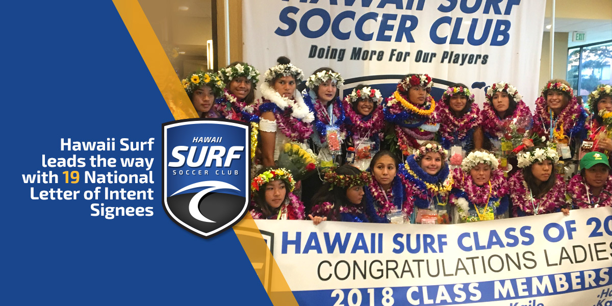 Hawaii Surf Leads The Way With 19 National Letter Of Intent Signees